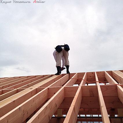 垂木(たるき)の施工