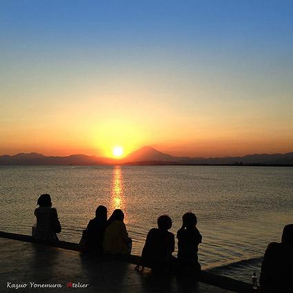 湘南,片瀬西浜